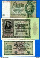 Allemagne  10  Billets - [ 3] 1918-1933 : Repubblica  Di Weimar