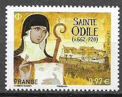 FRANCE, 2020, MNH,CHRISTIANITY, SAINTE  ODILE,1v - Christendom