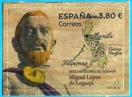 España. Spain. 2020. Descubridores De Oceanía. Filipinas. Miguel Lopez De Legazpi - 1931-Today: 2nd Rep - ... Juan Carlos I