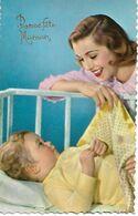L100G848 - Bonne Fête - Jeune Femme Et Son Bébé - Photochrom  Glacée N°849 - Mother's Day