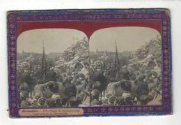 """Jérusalem  - Pélerinage De Mahométans Approchant De Jérusalem  Stéréo  """" Voyage En Orient En 1903 """" - Stereoscopio"""
