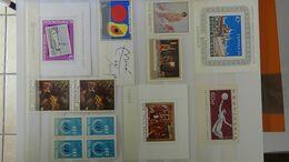 G142 Collection De TIMBRES ET BLOCS ** DE POSTA ROMANA. A Saisir !!! - Verzamelingen (in Albums)