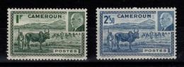 Cameroun - YV 200 & 201 Petain N** Cote 1,60 Euros - Unused Stamps