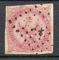 Colonies Françaises  - 1859-65 - Aigle Impérial - N° 6 - 80 C. Rose - (Oblitération : Losange De Points) - Aquila Imperiale