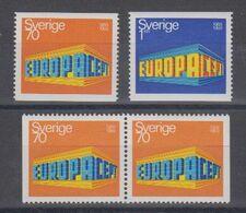 Europa Cept 1969 Sweden 4v  ** Mnh (49705) ROCK BOTTOM - 1969