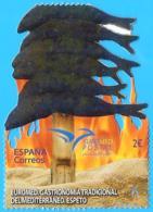 España. Spain. 2020. Euromed. Gastronomía Tradicional Del Mediterráneo. Espeto - 2011-... Nuovi & Linguelle