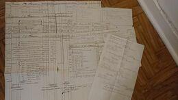 NAVIRES NEPTUNE VICTOIRE FORT DE PAIX CAMILLE CASIMIR - L.G. THOMPSON 1794-1795-1797 COMPTE CHEZ DELAVIGNE HAMBOURG - Historical Documents