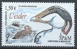 Saint-Pierre Et Miquelon YT PA 87 XX / MNH Oiseau Bird Animal Wildlife - Airmail