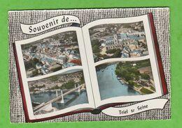 TRIEL SUR SEINE ( SEINE ET OISE) SOUVENIR DE ....TRIEL SUR SEINE - Triel Sur Seine