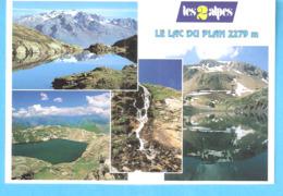Les 2 Alpes-Bourg-d'Oisans Et Ses Environs-Isère-Multivues-Le Lac Du Plan 2279 M-Photo: P.Blanc - Bourg-d'Oisans