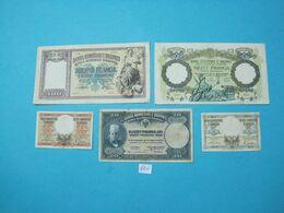 Albania Lot 5 Banknotes Nd 1939, - Albania