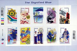 South Africa - UMM M/S - 2004 The Dignified Blue - Blocks & Sheetlets