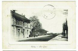 CPA - 03 - CRECHY - La Gare - Vichy