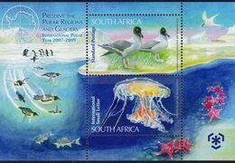 South Africa - UMM M/S - 2009 Preserve The Polar Regions - Blocks & Kleinbögen