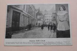 Jeanne VAN CALK ( Edition Frimat Bruxelles ) Anno 19?? ! - Personaggi Famosi