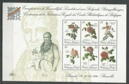 BELGIUM - MNH - Art - Plants - Flowers - Famous People - Roses