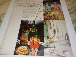 ANCIENNE PUBLICITE DES BULLES DE PERRIER  1976 - Afiches