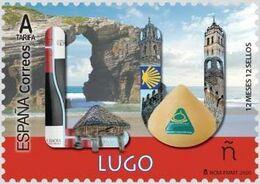 ESPAGNE SPANIEN SPAIN ESPAÑA 2020 12 MONTHS MESES 12 STAMPS SELLOS: LUGO MNH ED 5370 MI 5464  YT 5161 - 2011-... Neufs