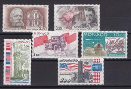 D219 / MONACO / LOT N° 1532/1537 NEUF** COTE 16.60€ - Monaco