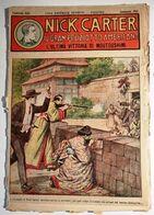 """1920 INFANZIA AVVENTURA NERBINI NICK CARTER IL GRAN POLIZIOTTO AMERICANO """"L'ULTIMA VITTORIA DI MOUTOUSHIMI"""" Firenze, Ner - Collections"""
