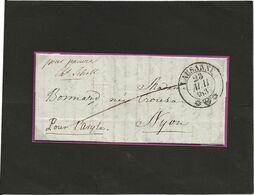 LAUSANNE  23.5.1837 - Suisse