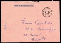 France PARIS PLM  AVION B 31/07/1987   Voir  Scan - Marcophilie (Lettres)