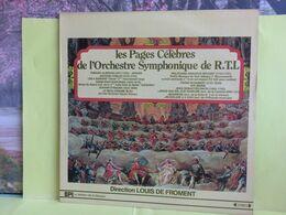Les PagzgesCélèbresL'Orchestre Symphonique De R.T.L. (1750-174- Disque Vinyles 33T) Titre Voir Photos-  (Muller Dom-Cat) - Limitierte Auflagen