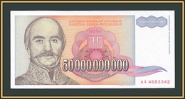 Yugoslavia 50000000000 Dinars 1993 P-136 (136a) UNC - Jugoslavia