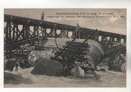 +770, WK I, Eisenbahnbrücke über Die Maas Bei Sedan-Donchery, 110m Lang, 12 M Hoch - Oorlog 1914-18