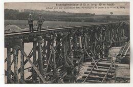 +947, WK I, Eisenbahnbrücke über Die Maas Bei Sedan-Donchery, 110m Lang, 12 M Hoch - Oorlog 1914-18