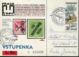 58191 Ceskoslovensko,special Card With Special Postmark Praha 1971 Showing The Supersonic Airplane TU-144 - Concorde