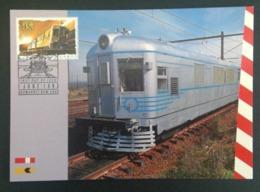 Australië 1993 Maximumkaarten Treinen - Cartes-Maximum (CM)