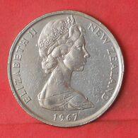 NEW ZEALAND 50 CENTS 1967 -    KM# 37,1 - (Nº37631) - Nuova Zelanda