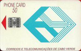 Cabo Verde - Cabo Verde Telecom - Blue Logo (Cn. C3C143237) 09.1993, 50U, SC7, 268.273ex, Used - Kaapverdische Eilanden