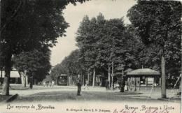 Uccle Avenue Brugmann Avec Tramway Circulée - Uccle - Ukkel