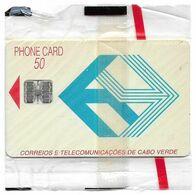 Cabo Verde - Cabo Verde Telecom - Blue Logo (Cn. C3C043240) 09.1993, 50U, SC7, 268.273ex, NSB - Kaapverdische Eilanden