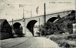 Uccle Viaduc De Calevoet Avec Tramway Circulée En 1956 - Ukkel - Uccle