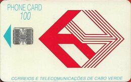 Cabo Verde - Cabo Verde Telecom - Red Logo (Cn. C3C043254) 09.1993, 100U, SC7, 197.000ex, Used - Kaapverdische Eilanden