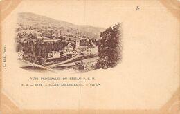 A-20-3065 : CARTE PRECURSEUR. SAINT-GERVAIS LES BAINS. VUE DU RESEAU PLM - Saint-Gervais-les-Bains