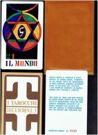 ALITALIA JEU DE TAROT CUBISTE 1973 DESSINS DE GIANNI NOVAK 1933 2002 JEU NUMEROTE ITALIE COMPAGNIE AERIENNE CUBISME - Playing Cards