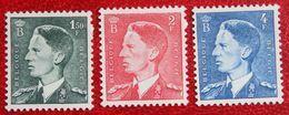 Koning Boudewijn 1953 OBP 909-911 (Mi 949-951) POSTFRISMNH ** BELGIE BELGIUM - Unused Stamps