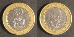 Jamaica - 20 Dollars 2001 Used (ja001) - Jamaica