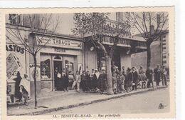 Algérie - Tienet-El-Haad - Rue Principale - Autres Villes
