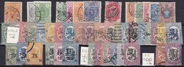 FI038 – FINLANDE – FINLAND – 1885→1929 – USED LOT 14 € - Gebruikt