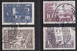 FI040 – FINLANDE – FINLAND – 1930 – LARGE CURRENT TYPE – SC 177/9 - 205 USED - Gebruikt