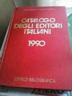 CATALOGO DEGLI EDITORI ITALIANI 1990 - USATO - - Books, Magazines, Comics