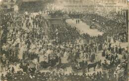 CARNAVAL DE NICE 1903 PLACE MASSENA ANIMEE - Carnival