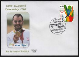 Croatia Zagreb 2016 / Olympic Games Rio De Janeiro / Shooting Trap / Gold Medal Winner / Josip Glasnovic - Summer 2016: Rio De Janeiro
