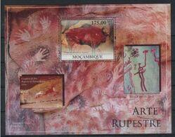 Mozambique 2010 Prehistory Prehistoire Peintures Rupestres Altamira MNH - Preistoria