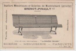 """CPA Montrichard - Ateliers Mécaniques Et Scieries Brenot-Pinault - Une De Nos Fabrications """"La Bergère Trianon"""" - Montrichard"""